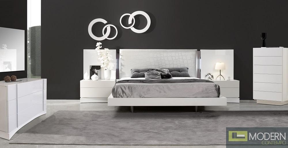 Modern Contemporary Beds Dressers Mirrors Headboards Night