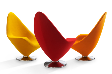 Modern Contempo Lounge Chairs