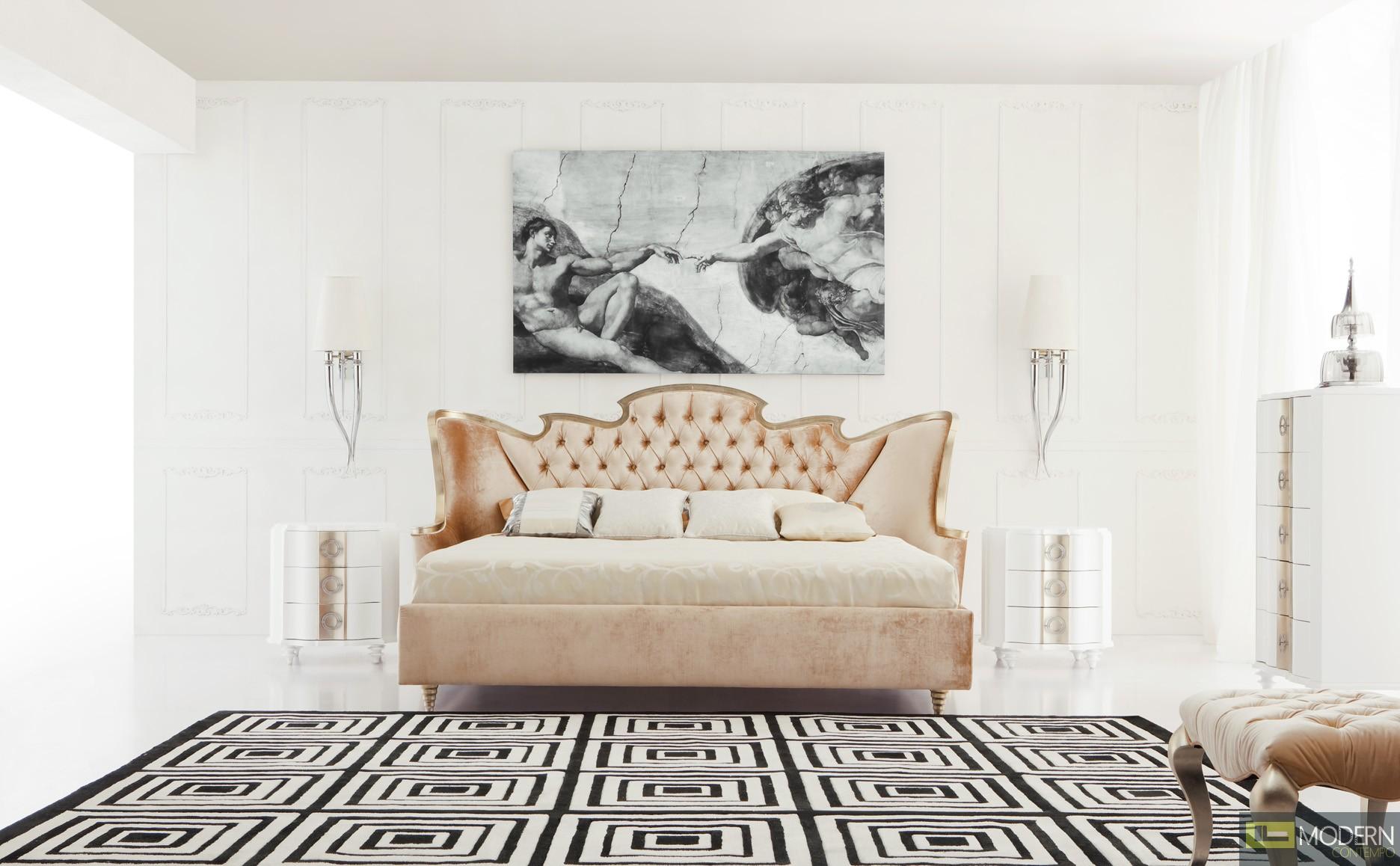 Baroque luxury platform bed vienna - Luxury platform beds ...