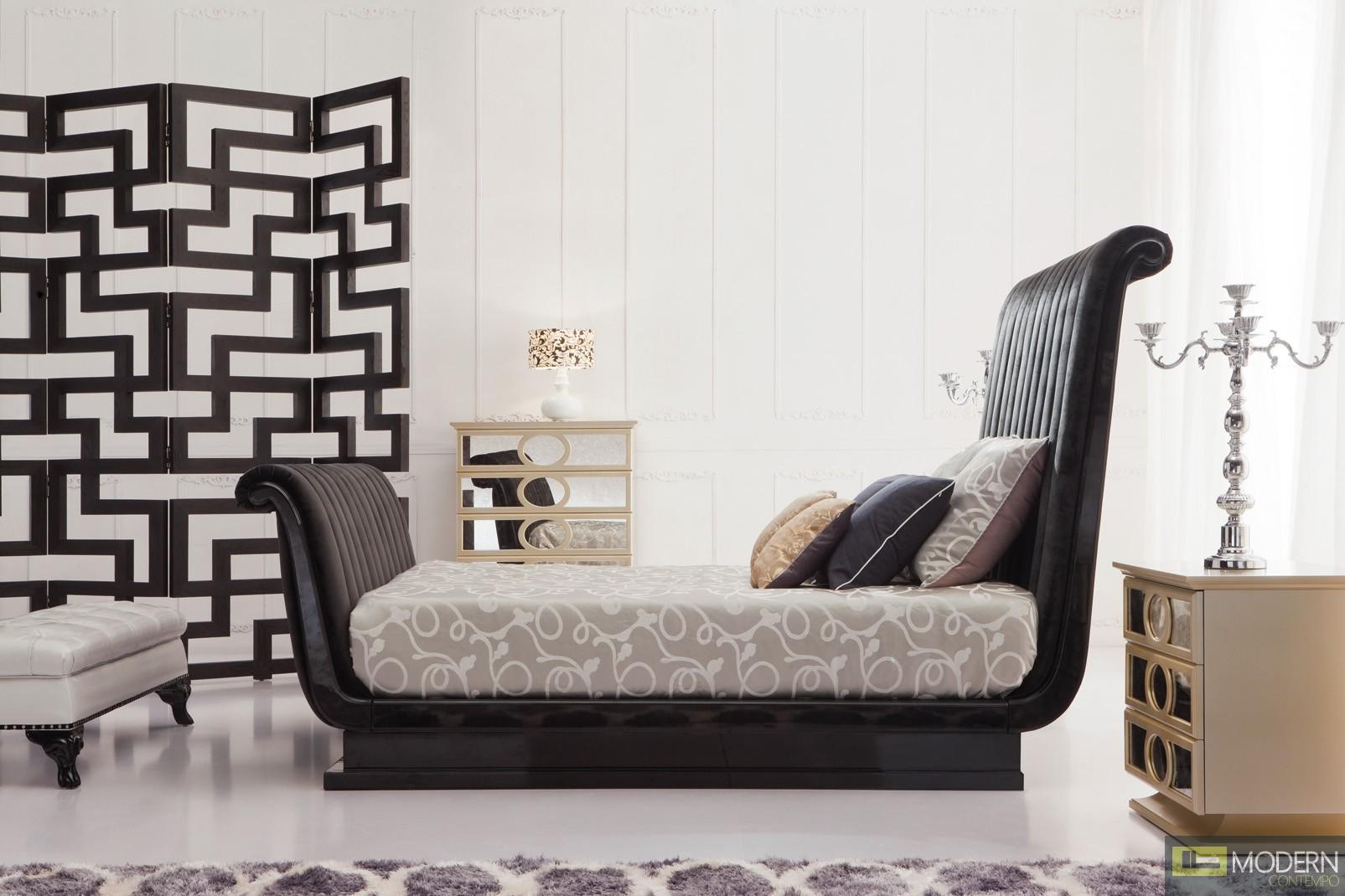 Baroque luxury platform bed san marlo - Luxury platform beds ...