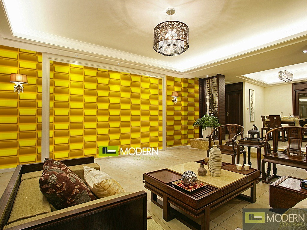 Vent exterior and interior glue on wall 3d surface panel for Exterior wall covering materials
