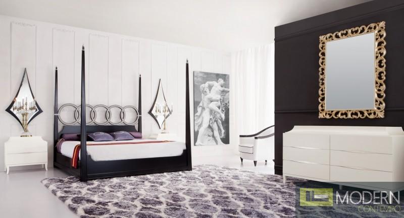 Baroque luxury platform bed zeneto - Luxury platform beds ...