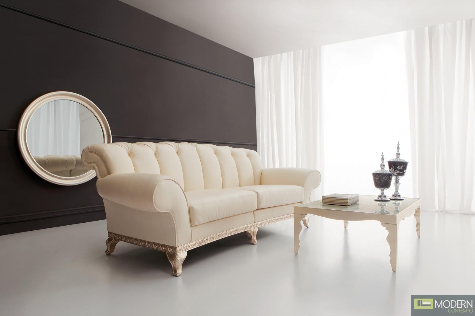 Bolzano Neo Classic Luxury Sofa Love Seat Set