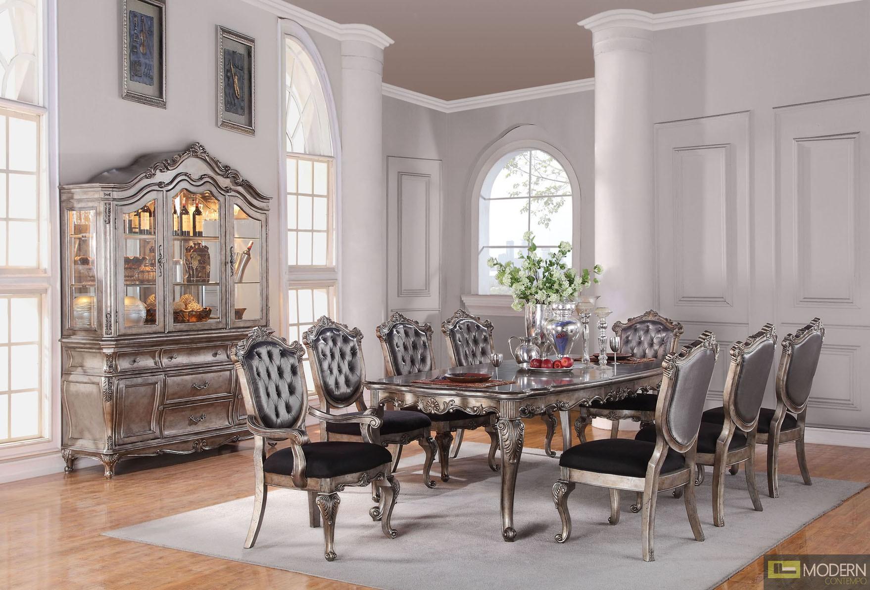 Modern Contempo French Rococo Luxury Sofa Traditional