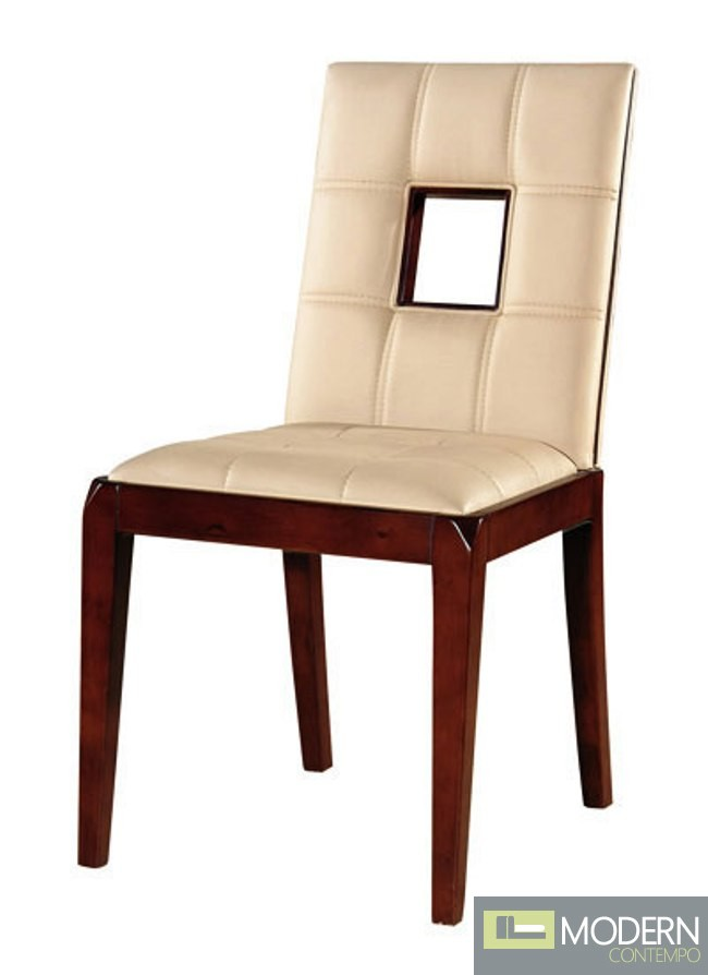 Chloe Leather Dining Chairs
