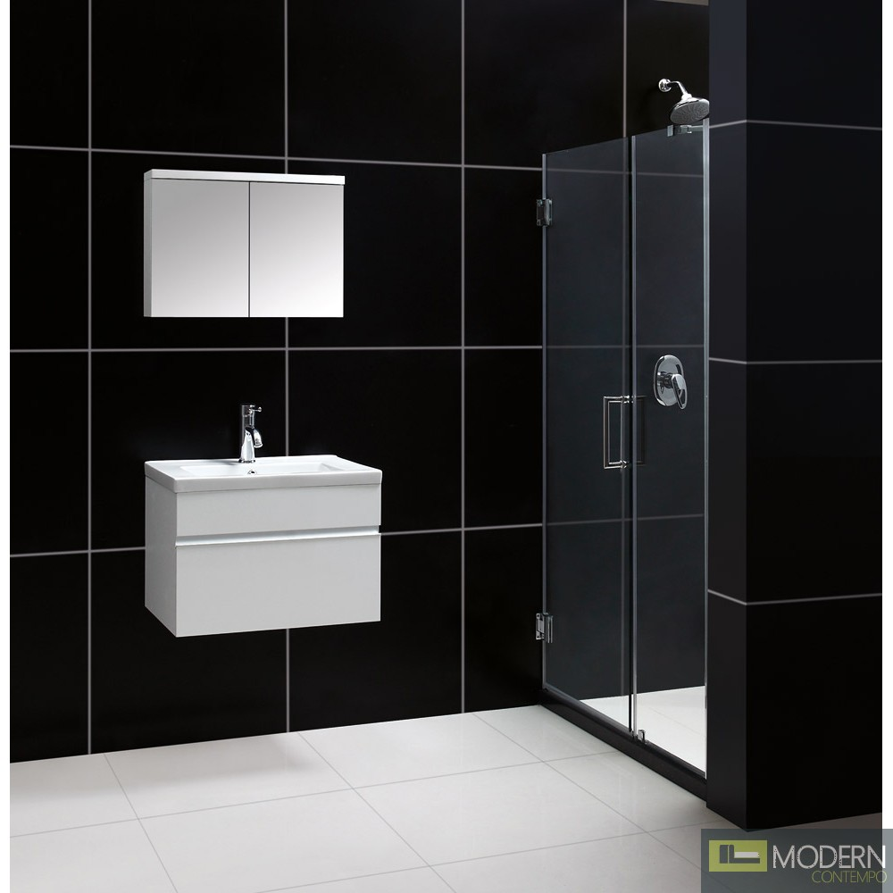 modern contempo wall mounted modern bathroom vanity w porcelain