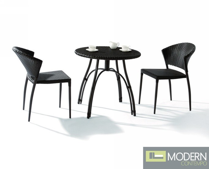 Ht02 miniature patio table and 2 chairs for Small deck table and chairs