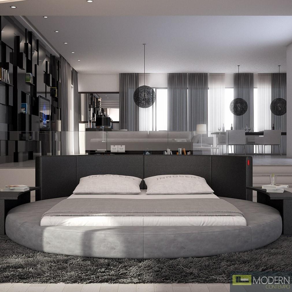 Sfera Modern King Round Bed