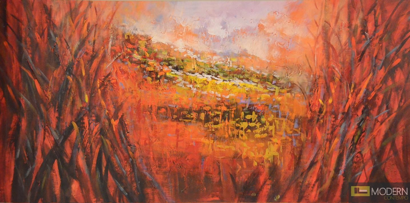 """Modrest C1491 28""""x55"""" Oil Painting"""