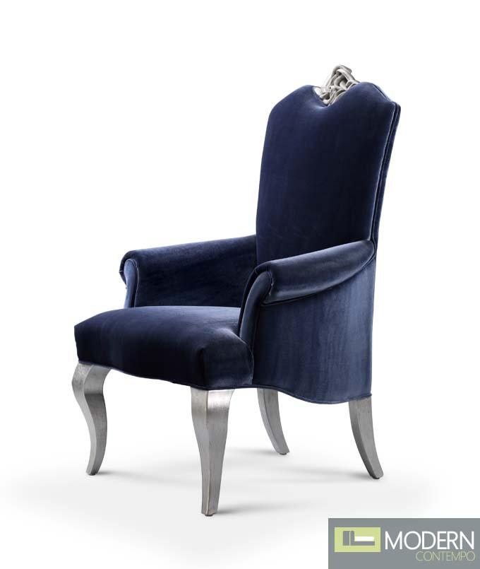 Elena Baroque Rococo Dining Arm Chair