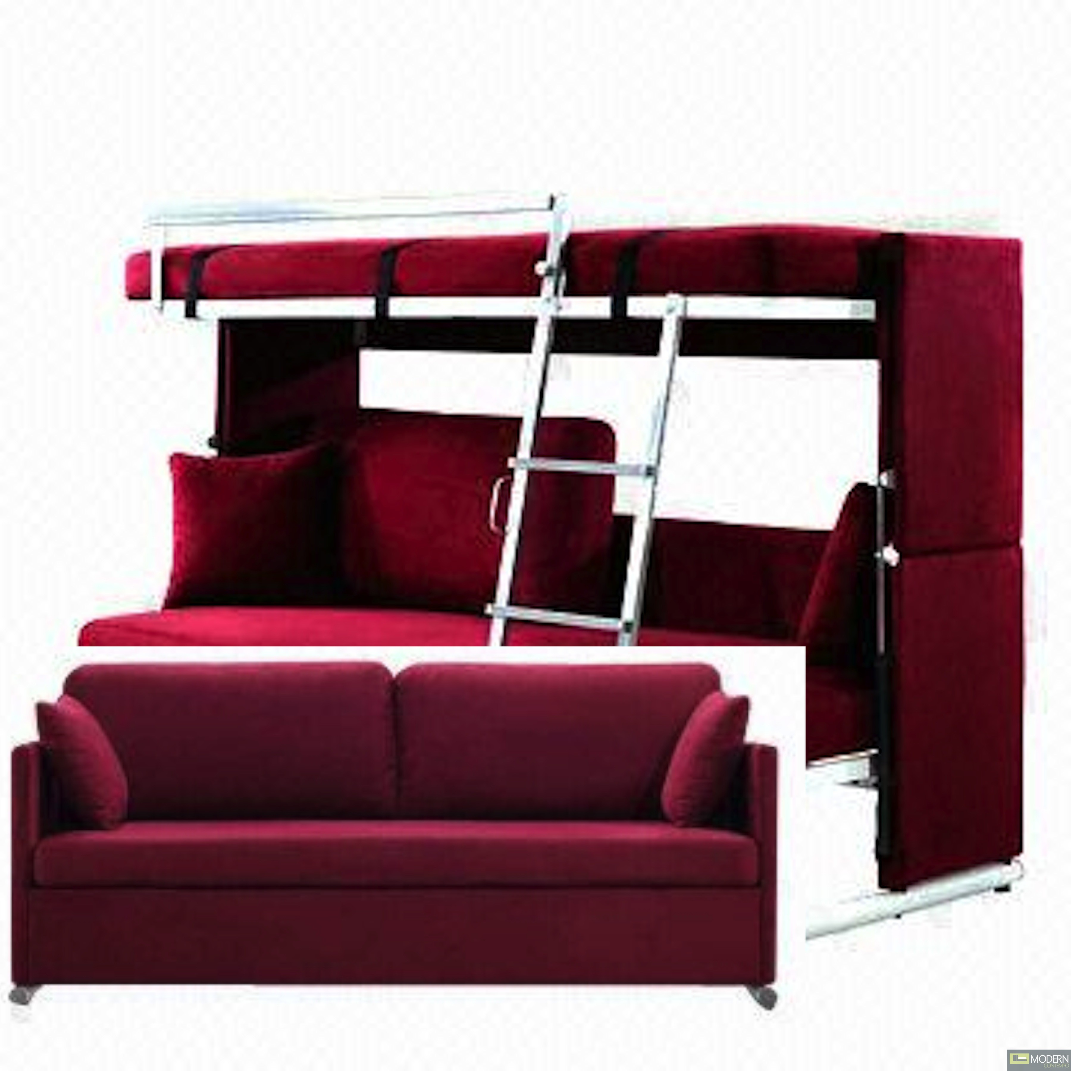 Sofa Converts To Bunk Beds Craziest Gad s to