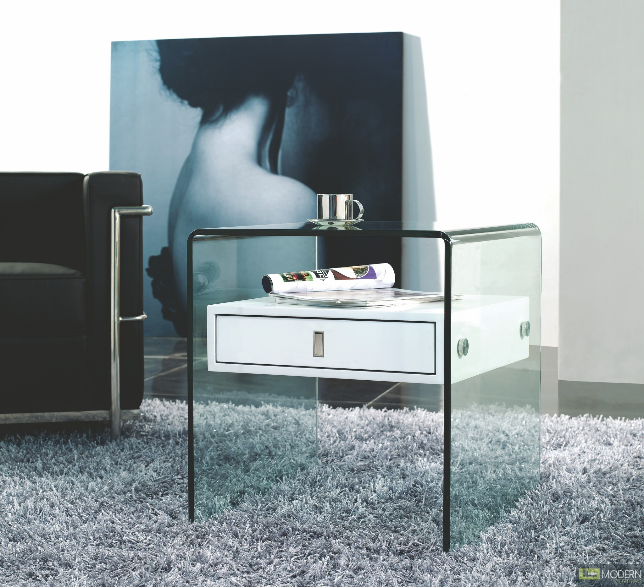 Bari Modern Floating Nightstand