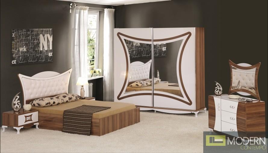 zuritalia sands queen platform bedroom set