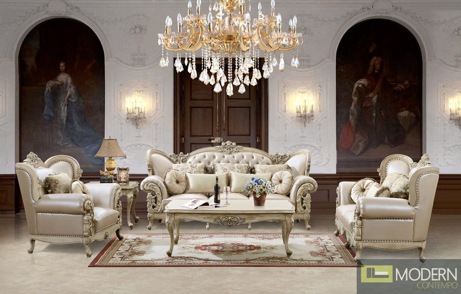 Azalea Upholstery Living Room Set Victorian, European U0026 Classic Design Sofa  Set MCHD32