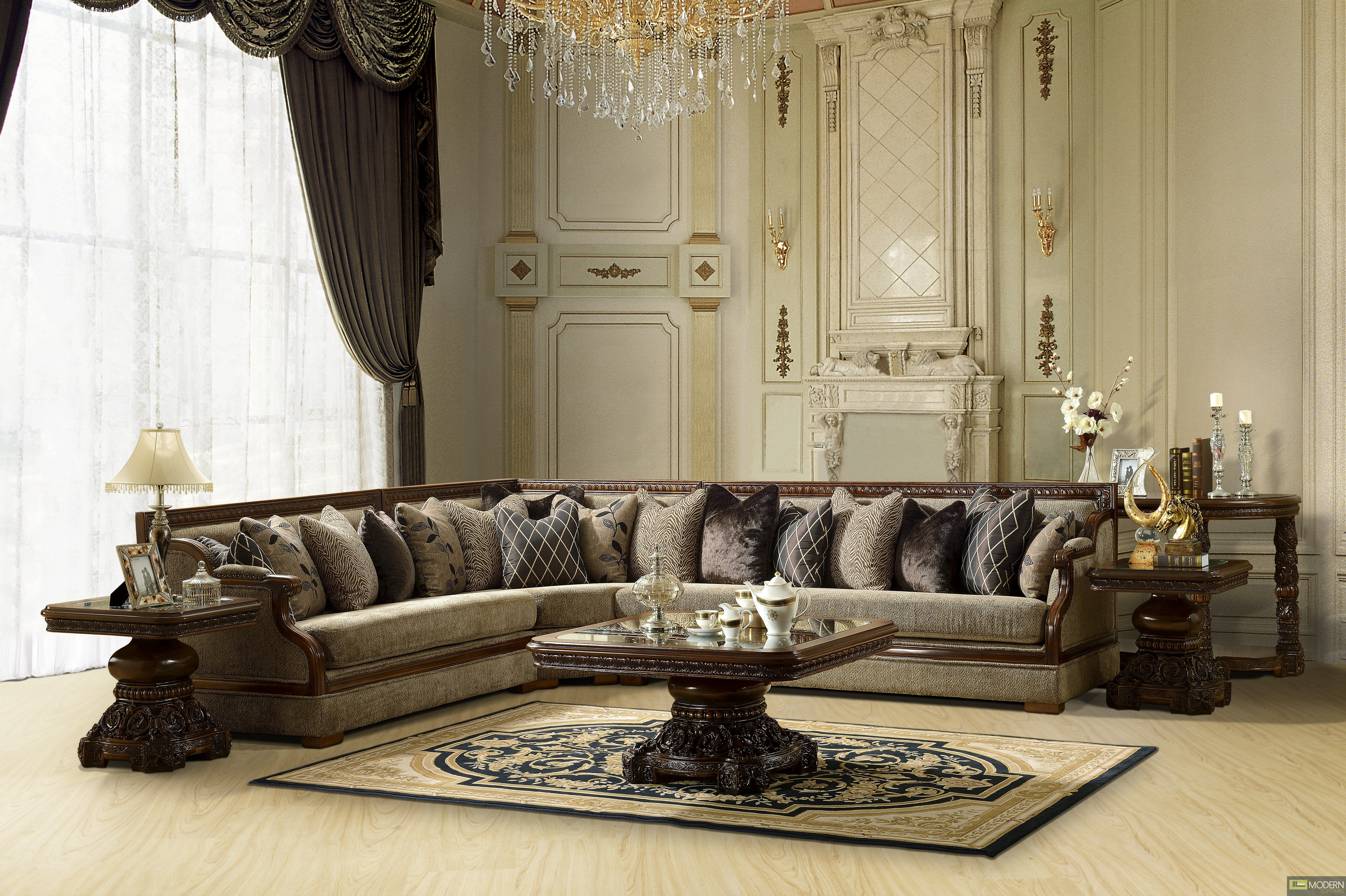 Living Room Couch Set Ronica Traditional Sofa Sectional Set Formal Living Room Furniture
