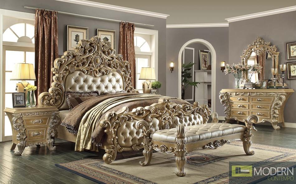 Luxury european style bedroom set for European style bedroom