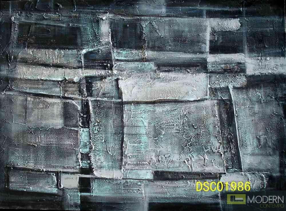 """Modrest 1986 47""""x30"""" Oil Painting"""