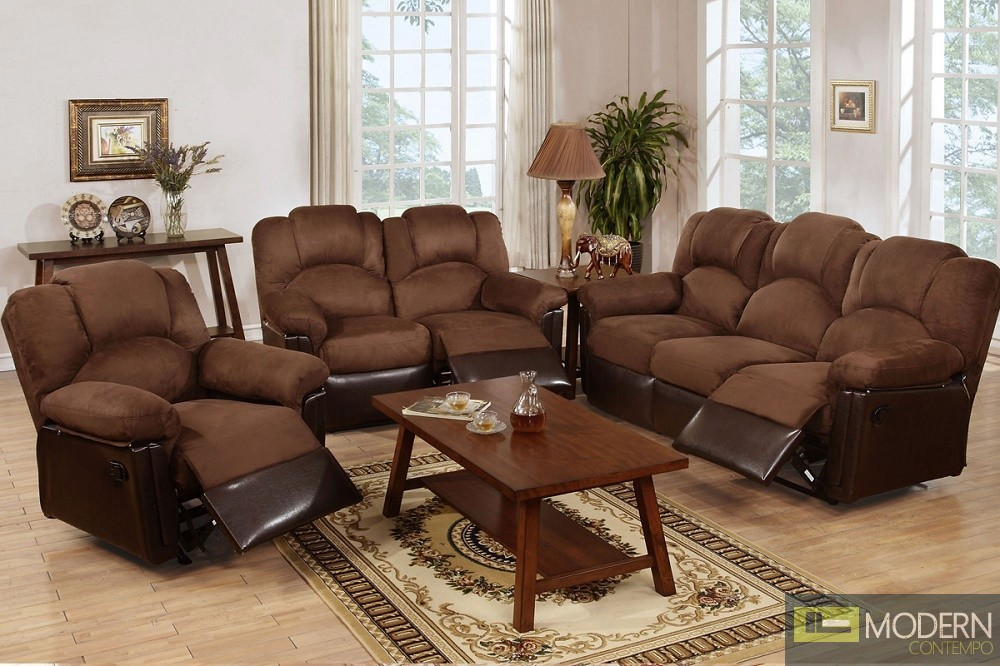 3PC Two-Tone Chocolate Loveseat sofa and Chair. MCGSL668123 Free 24 to 72 hours inside delivery in DMV Area