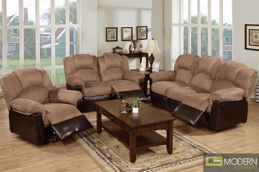 3PC Two-Tone Saddle Loveseat sofa and Chair. MCGSL668456 Free 24 to 72 hours inside delivery in DMV Area