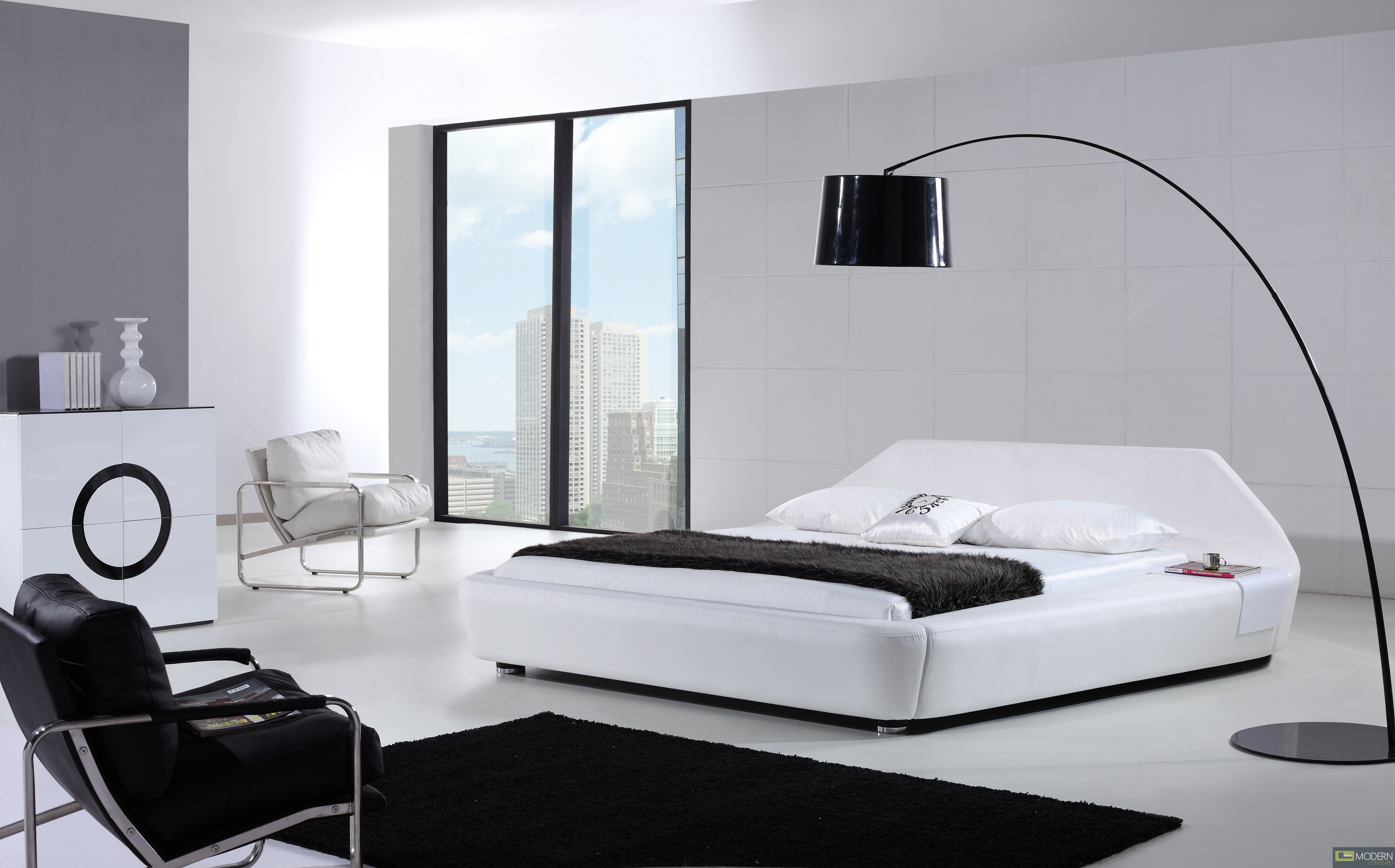 home modern contemporary taupe leather platform bed inspire - yeolani home modern contemporary taupe leather platform bed inspire