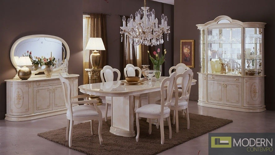 milady italian lacquer dining set modern italian lacquered purple dining room set