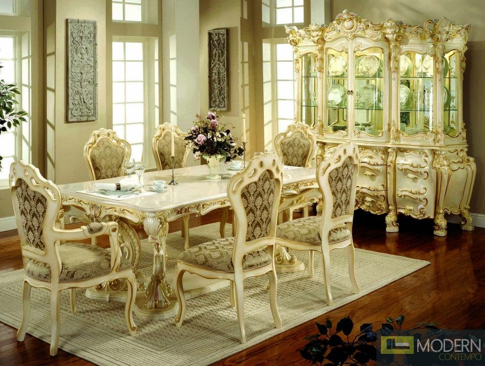 Traditional Formal Victorian HighEnd Dining Room Table only, with ...