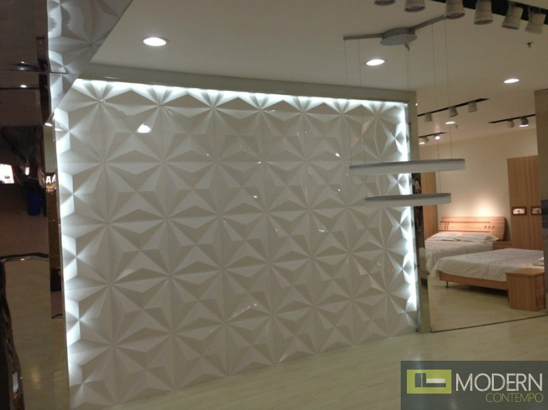 Pvc Wall Panels Interior : Star exterior and interior glue on wall d surface panel