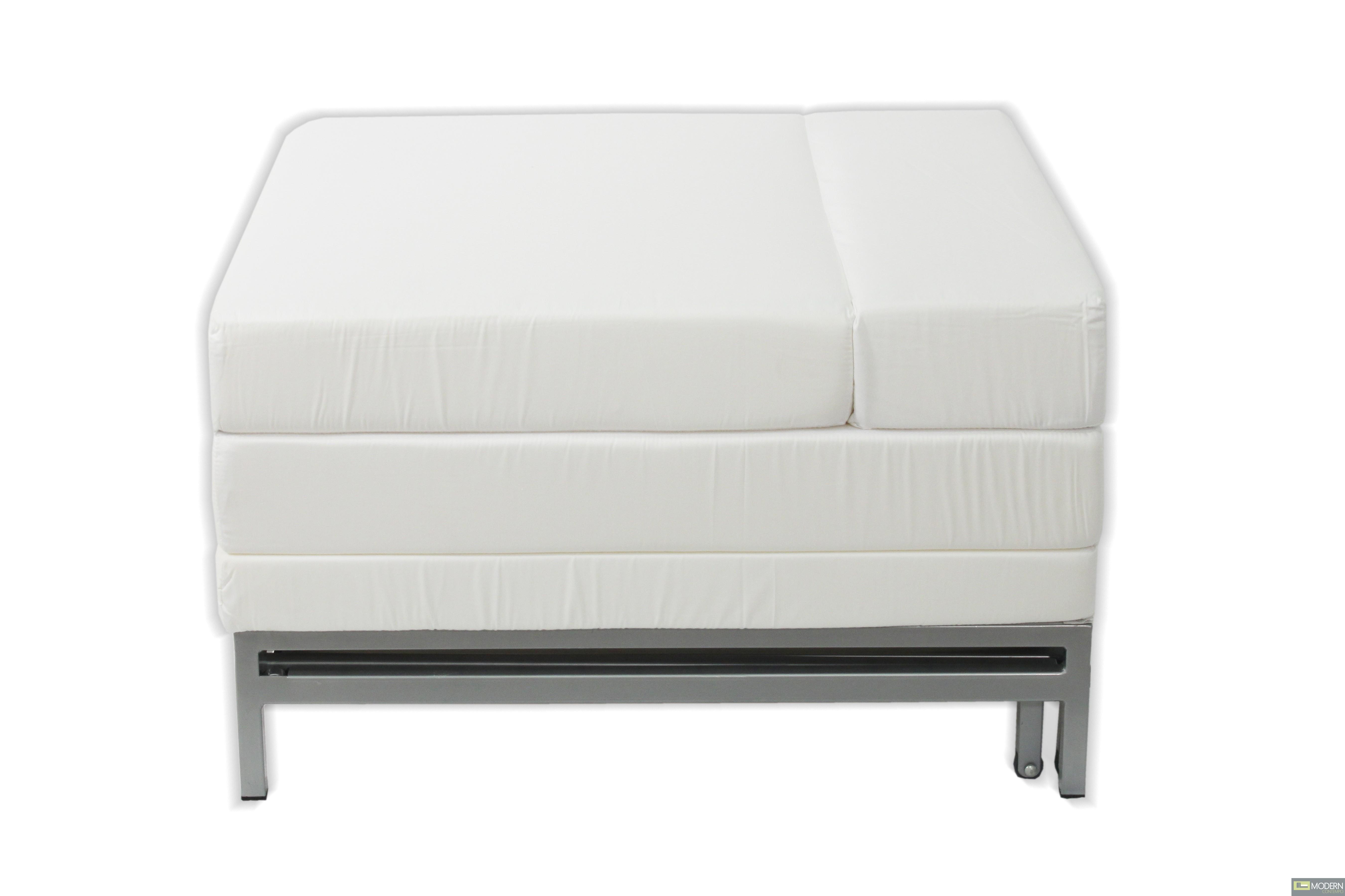 Tessa modern ottoman sofa bed for Sofa bed ottoman