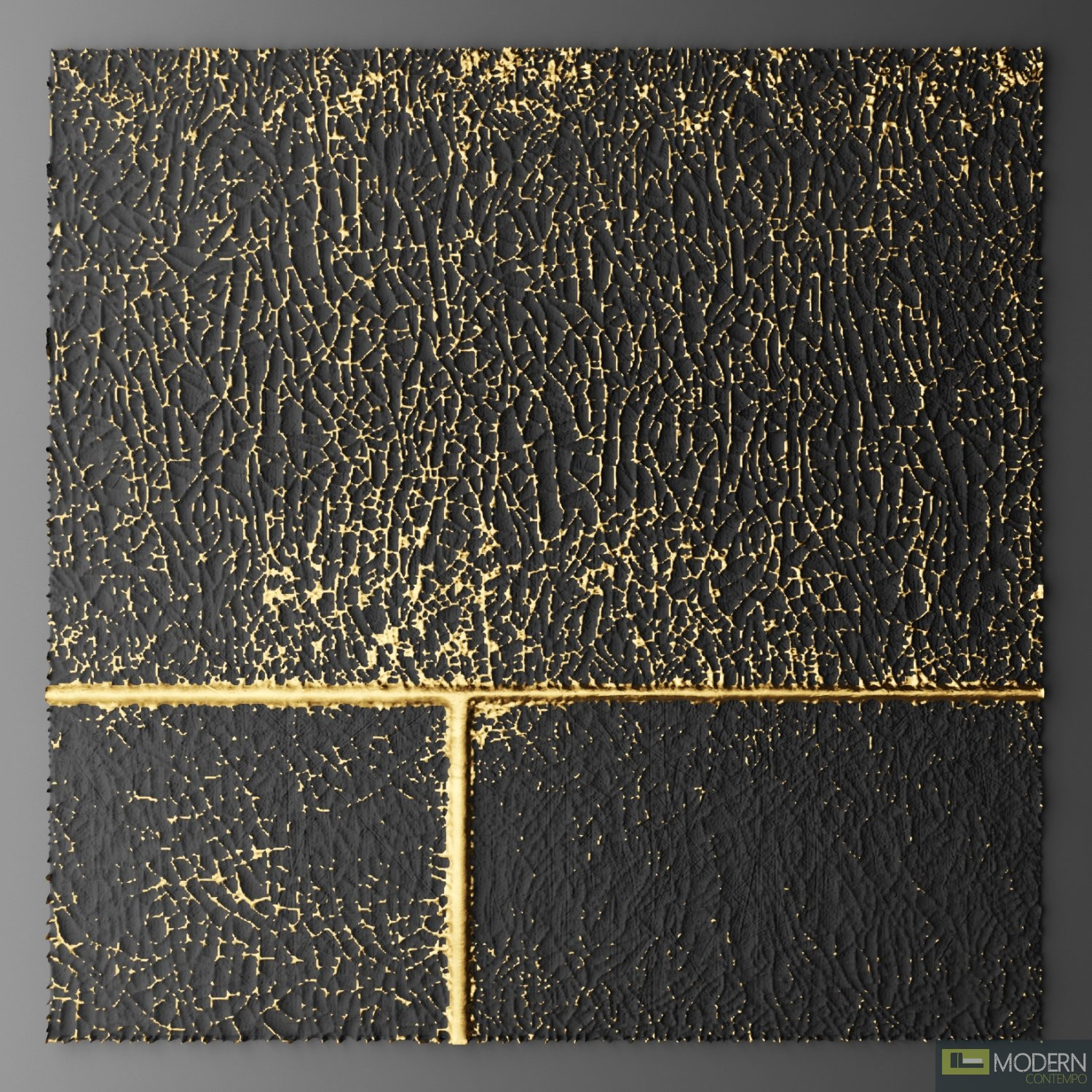 Gold Wall Paneling : D surface wall panel gold