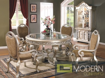 5pc High End French Classic Luxury Dining Set Yhyt275
