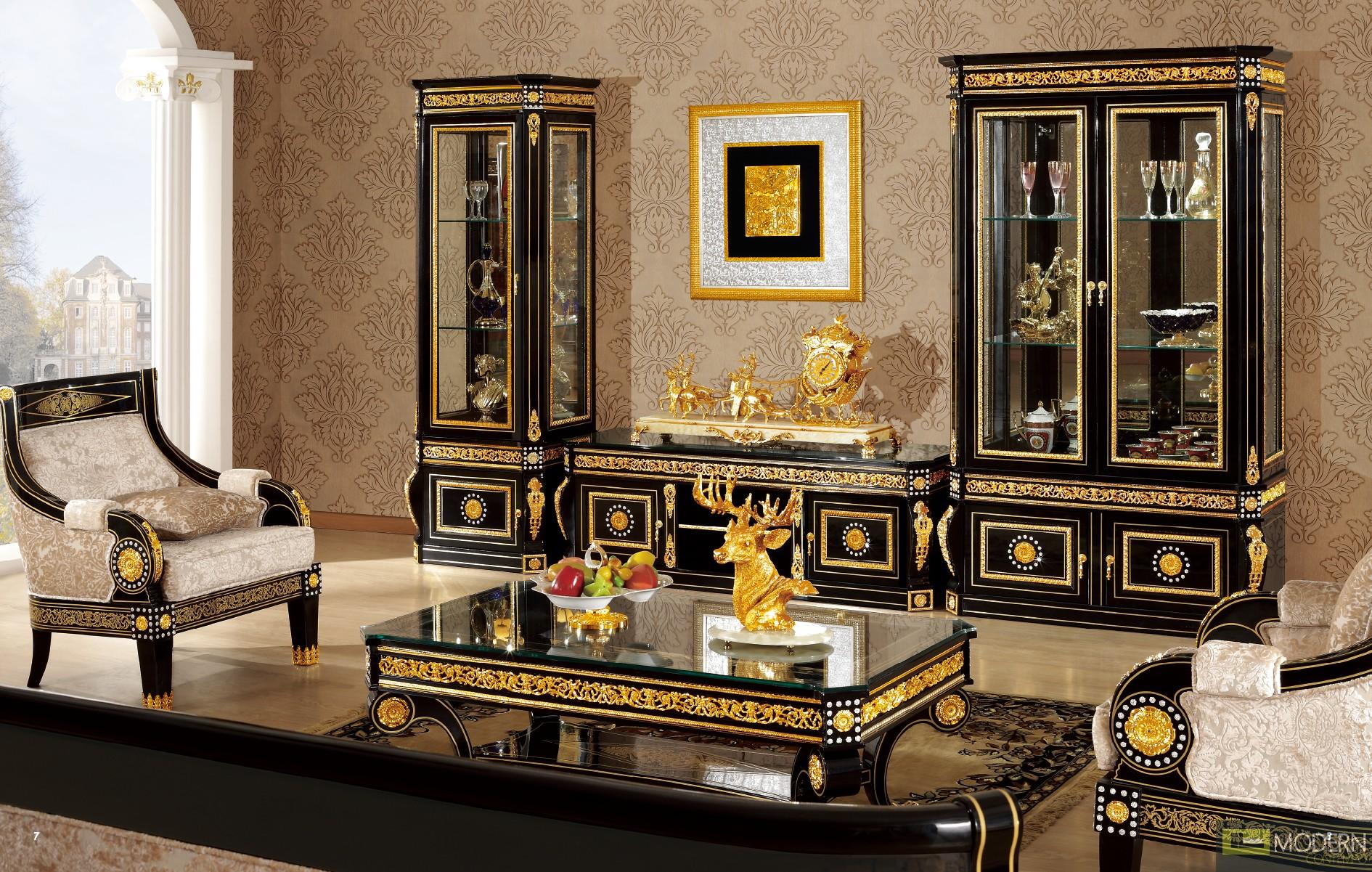 Zuritalia Fara Royal Collection Luxury Italian Style Bedroom Set