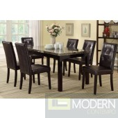 5pc Faux Polished Marble Dining Table Set  MCGSD2093/1083. Free 24 to 48hrs Inside Delivery in DMV metro area.