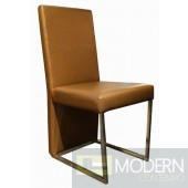 A&X Modern White Chair #0099