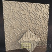 TexturedSurface 3d wall panel TSG179