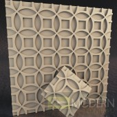 TexturedSurface 3d wall panel TSG192