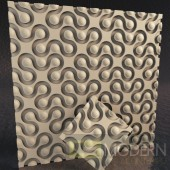 TexturedSurface 3d wall panel TSG193