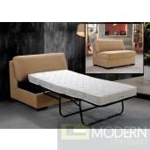 Divani Casa Solo - Armless Bed Chair
