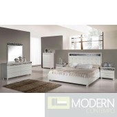 Modrest Evo - Modern Ambient White Bedroom Set