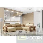 Modern Leather Sectional Sofa  MCNV105