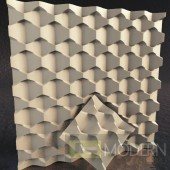 3d wall gypsum wall panel tiles