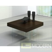 Modrest Aura - Modern Floating Tobacco Coffee Table