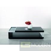 Modrest Gemstone - Modern Black Oak Coffee Table