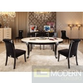 A&X Bellagio - Luxurious Transitional Marble Dining Table
