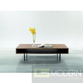Modrest Stilt - Modern Walnut Coffee Table