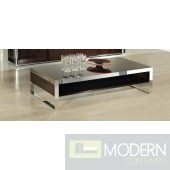 Modrest Indium - Modern Ebony Lacquer Coffee Table