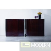 Modrest Noble - Modern Ebony Lacquer Square Buffet