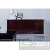 Modrest Noble - Modern Ebony Lacquer Buffet