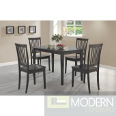 5pc Cappuccino 5pc Hardwood Dinette Set. MCGSD150152 Free 24 to 48hrs Inside Delivery in DMV metro area.