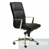 GUNAR PRO HIGH BACK OFFICE CHAIR BLACK