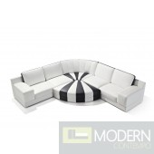 Modern Leather Sectional Sofa  MCNV207